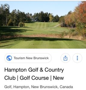 Golf Share - Hampton Golf & Country Club