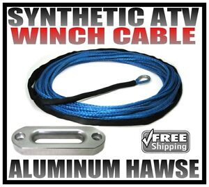 NEW-50-SYNTHETIC-ATV-WINCH-CABLE-AND-HAWSE-PACKAGE