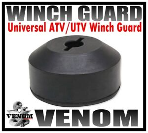 VENOM UNIVERSAL ATV UTV WINCH GUARD CABLE STOP HOOK STOPPER LINE SAVER