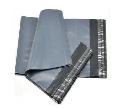 100 Grey Mailing Bags - 6