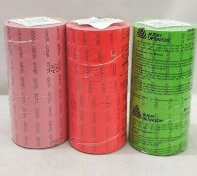 Monarch 1136 Pre-print Labelssleeve Of 8 Rolls 14000 Labelssleevepick Color