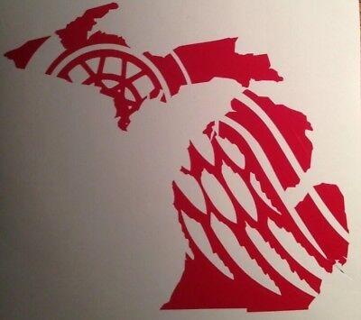 Detroit Red Wings Little Caesars Arena Michigan 2018 Yeti Vinyl Decal Sticker
