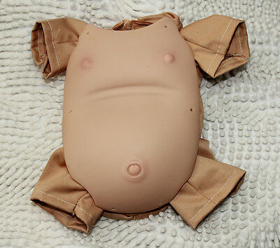 "Soft Reborn Baby Doll Belly Plate&Cloth Body for 20-22"" Soft Vinyl Reborn Kit"