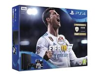 PlayStation 4 500GB + Fifa 18