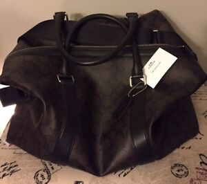 Almost New Authentic Coach travelling bag