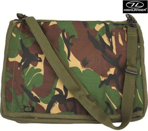 Highlander A4 Waterproof Army Military Notebook Holder Binder Case Camo Map DPM
