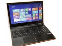 Lenovo ideapad flex 15 black touchscreen laptop