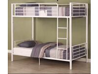 White Metal Ikea Bunk Bed With Drawer Underneath Good Condition Already Dismantled Must