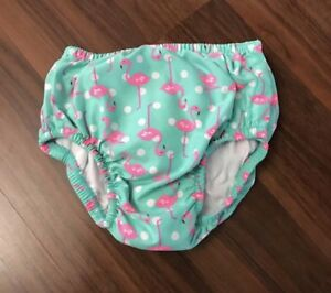 Baby girl's reusable swim diaper for 12-18 months of age