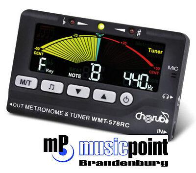 Cherub WMT-578 3 in 1 Metro-Tuner / Chromatisches Stimmgerät