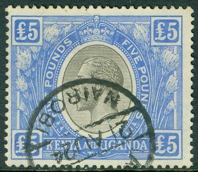 Edw1949sell   Kenya U   T 1922 27 Sc  41 Vf  Used W Neat Revenue Cancel Cat  375