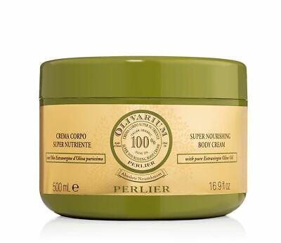 Perlier Olivarium 100% Organic Olive Super Nourishing Body Cream 16.9 oz SEALED Perlier Olive Oil