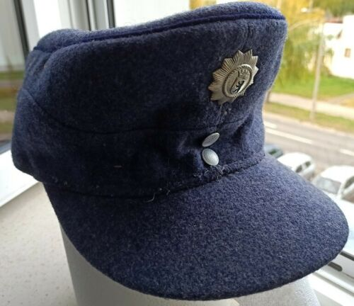 WEST GERMAN POLICE CAP M-43 cold war relic VERY RARE