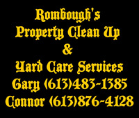 Rombough's Property Clean Up and Yard Care Services
