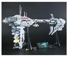 Lepin UCS Star Wars Nebulon B Medical Frigate MOC construction set