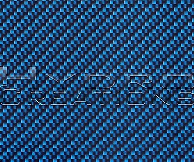 Hydrographic Film Hydro Dipping Water Transfer Film Carbon Fiber Blue 38.5x 19