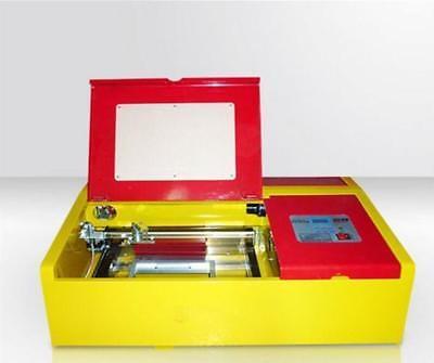 50 W Laser Engraver Engraving Cutting Cutter Machine 300200 Work Table