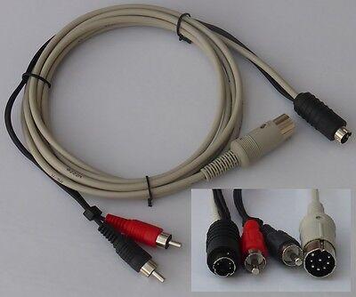 Commodore C64/C128 Kabel S-Video 2 Meter.