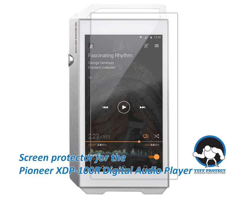 Anti-glare Screen Protectors for Pioneer XDP-100R Player  -