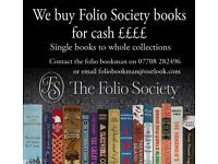 FOLIO SOCIETY BOOKS WANTED FOR CASH