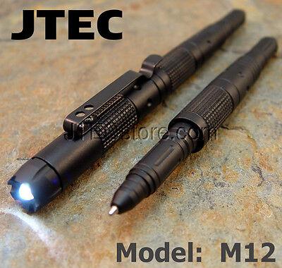 New Aluminum Tactical Pen LED / GLASS BREAKER / DNA CATCH Self Defense