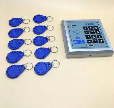 Security Rfid Proximity Entry Door Lock Access Control System 500 User 10 Keys