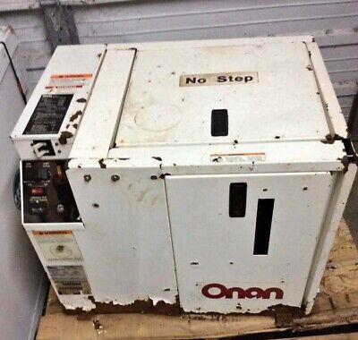 Cummins Onan 5 Mdkau - 4491986  5 Kw Marine Diesel Generator 60 Hz