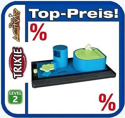 TRIXIE Dog Activity Poker Box Vario 32 × 17 cm Level 2 Intelligenz Spielzeug