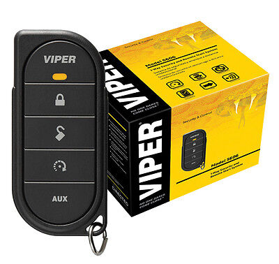 Viper 5606V Car Alarm & Remote Starter ONE 5-Button Remote 2000 Feet Keyless NEW