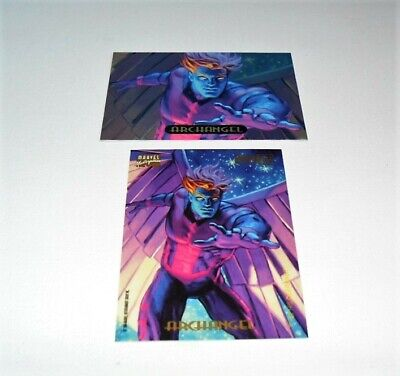 1994 FLEER MARVEL POWER BLAST SINGLE FOIL CARD #2 ARCHANGEL Single Power Foil Card