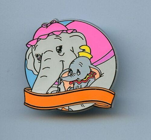 Disney Love is An Adventure Mystery Dumbo Mrs. Jumbo Blank Chaser LE 250 Pin
