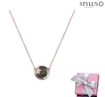 Stylus) Some Happy Night3(Black MOP) 14K Necklace 230100072 14K Pink Gold 1.62g