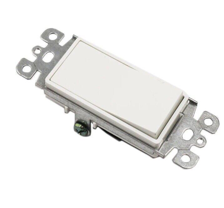[10 Pack] Single Pole Decorator Wall Light Switch