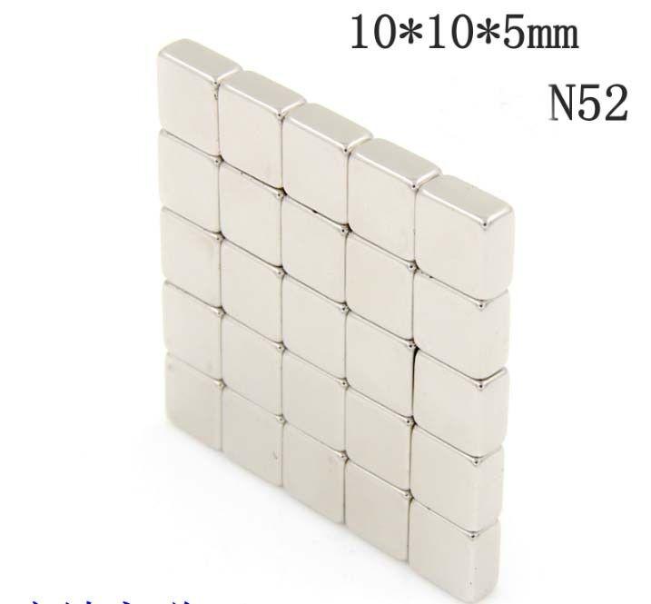 5-10pcs F10X 10X 5mm alnico ndfeb high strength strong magne