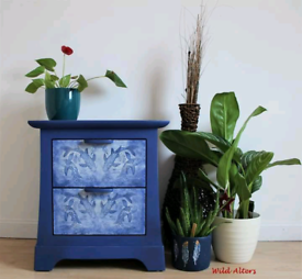 Upcycled bedside cabinet/side unit