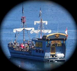 Pirate Adventures: Pirate theme boat charter business