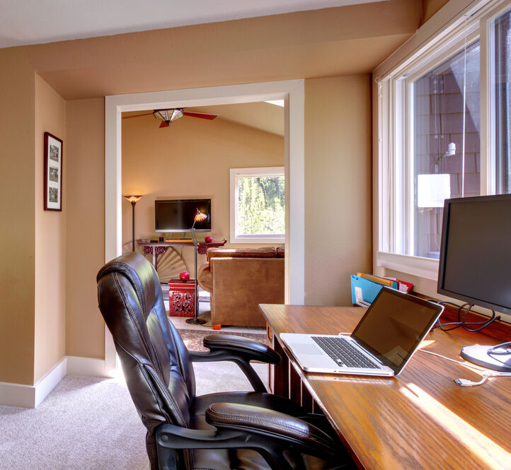 Small Home Office Room: How To Design A Home Office Layout