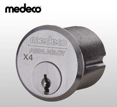 Medeco Mortise Cylinder X4 6 Pin 1-18