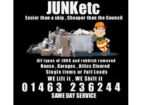 Junk Removal, Home and garage clearance