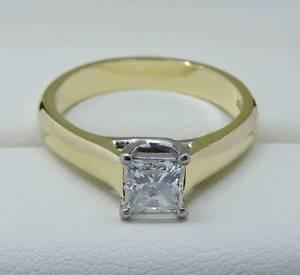 $8.25K Value - 3/4 Carat GIA Diamond Ring Melbourne CBD Melbourne City Preview