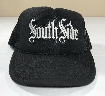 VTG South Side Hat Snapback Trucker Cap 90's Hip-Hop Rap Gangsta Gangs