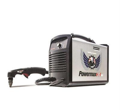 Hypertherm 088096 Powermax 30 Air Plasma Cutter W Air Compressor