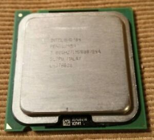 Intel Pentium 4 3.00GHz / HyperThreading / 1M / 800 FSB