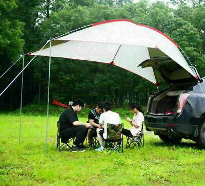 1*Zelt Auto Hinten Anhänger Sonnen Markise Vordach Dachterrasse Outdoor