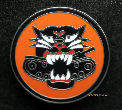 Tank Destroyer Battalion WORLD WAR 2 US ARMY HAT TIE TAC PIN BLACK CAT GIFT WOW