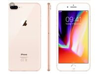Iphone 8 plus, on Vodafone sealed in box brand new in gold