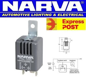 NARVA-HEADLIGHT-ON-WARNING-BUZZER-12-VOLT-85-DECIBEL-LIGHT-ALARM-72560BL