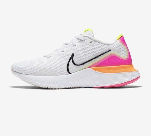 women renew run running athletic shoes platinum