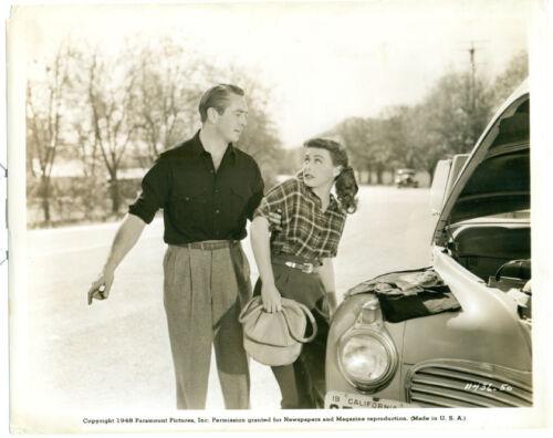 PAULETTE GODDARD MACDONALD CAREY Hazard Orig 1948 Photo