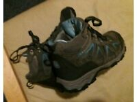 Karrimor Mountain Mid Top Ladies Walking Boots size 6.5 (40)